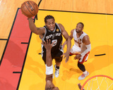 2014 NBA Finals Game Four: Jun 12, Miami Heat vs San Antonio Spurs - Kawhi Leonard Photo by Jesse D. Garrabrant