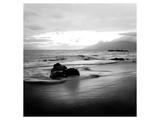 Coastal Rocks in Hawaii Lámina por Shane Settle