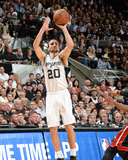 2014 NBA Finals Game Five: Jun 15, Miami Heat vs San Antonio Spurs - Manu Ginobili Photographic Print by Andrew Bernstein