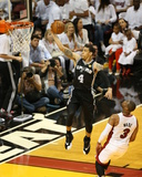 2014 NBA Finals Game Three: Jun 10, Miami Heat vs San Antonio Spurs - Danny Green Photographic Print by Joe Murphy