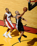 2014 NBA Finals Game Three: Jun 10, Miami Heat vs San Antonio Spurs - Tony Parker Photo af Garrett Ellwood