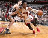 2014 NBA Finals Game Three: Jun 10, Miami Heat vs San Antonio Spurs - Dwayne Wade Photo by Nathaniel S. Butler