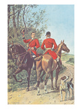 Hunting Team (1892) Prints by J. Condamy
