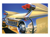 Cadillac Eldorado '59 in Athens Posters par Graham Reynold