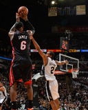 2014 NBA Finals Game Two: Jun 8, Miami Heat vs San Antonio Spurs - Lebron James Photographic Print by Jesse D. Garrabrant