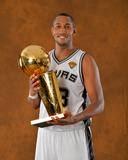 2014 NBA Finals Game Five: Jun 15, Miami Heat vs San Antonio Spurs - Boris Diaw Photographic Print by Jesse D. Garrabrant