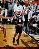 2014 NBA Finals Game Four: Jun 12, Miami Heat vs San Antonio Spurs - Patty Mills Foto af Garrett Ellwood