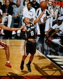 2014 NBA Finals Game Four: Jun 12, Miami Heat vs San Antonio Spurs - Patty Mills Photographic Print by Garrett Ellwood