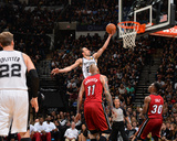 2014 NBA Finals Game One: Jun 5, Miami Heat vs San Antonio Spurs - Manu Ginobili Photographic Print by Jesse D. Garrabrant