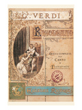 Verdi- Rigoletto Affiches
