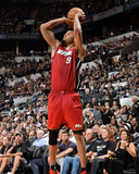 2014 NBA Finals Game One: Jun 5, Miami Heat vs San Antonio Spurs - Rashard Lewis Photographic Print by Andrew Bernstein