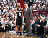 2014 NBA Finals Game Three: Jun 10, Miami Heat vs San Antonio Spurs - Tony Parker Photographic Print by Nathaniel S. Butler