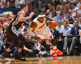 2014 NBA Finals Game Four: Jun 12, Miami Heat vs San Antonio Spurs - Lebron James Photographic Print by Jesse D. Garrabrant