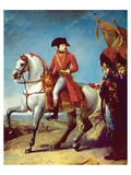 Napoleon after the Battle of Marengo Prints