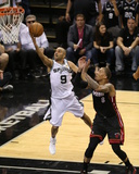 2014 NBA Finals Game Five: Jun 15, Miami Heat vs San Antonio Spurs - Tony Parker Photo by Joe Murphy
