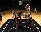 2014 NBA Finals Game Two: Jun 8, Miami Heat vs San Antonio Spurs - Manu Ginobili Photographie par Garrett Ellwood