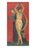Pompeian Art, Dancing Women Prints