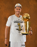 2014 NBA Finals Game Five: Jun 15, Miami Heat vs San Antonio Spurs - Jeff Ayres Photographic Print by Jesse D. Garrabrant