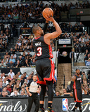 2014 NBA Finals Game Five: Jun 15, Miami Heat vs San Antonio Spurs - Dwayne Wade Photographic Print by Jesse D. Garrabrant
