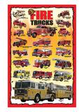 Fire Trucks for Kids Plakat