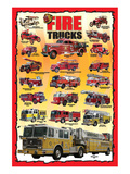 Fire Trucks for Kids Poster