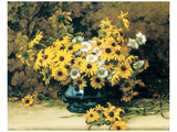 Still Life with Daisies Prints by Marc-aurele De Foy Suzor-cote