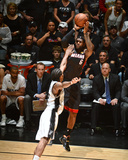 2014 NBA Finals Game Two: Jun 8, Miami Heat vs San Antonio Spurs - Lebron James Photographic Print by Garrett Ellwood