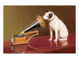 Die Stimme seines Meisters|His Master's Voice Ad Kunstdruck