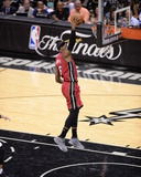 2014 NBA Finals Game One: Jun 05, Miami Heat vs San Antonio Spurs - Lebron James Photographic Print by Noah Graham