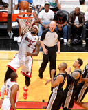2014 NBA Finals Game Four: Jun 12, Miami Heat vs San Antonio Spurs - Lebron James Photographic Print by Andrew Bernstein