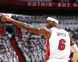 2014 NBA Finals Game Three: Jun 10, Miami Heat vs San Antonio Spurs - Lebron James Photographic Print by Nathaniel S. Butler