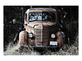Old Truck in a Field Prints by Shane Settle