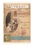 Verdi, Rigoletto - Poster