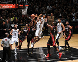 2014 NBA Finals Game Two: Jun 8, Miami Heat vs San Antonio Spurs - Tony Parker Photographic Print by Garrett Ellwood