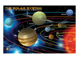 The Solar System for Kids Affiches