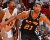 2014 NBA Finals Game Four: Jun 12, Miami Heat vs San Antonio Spurs - Tim Duncan Photo by Jesse D. Garrabrant