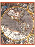 Map of North America II Prints