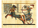 Ramses on Chariot Poster
