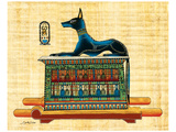 Anubis the God of Dead Prints