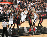2014 NBA Finals Game Two: Jun 8, Miami Heat vs San Antonio Spurs - Tony Parker Photo af Nathaniel S. Butler