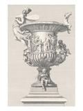 Vase de Marbre II Affiches par Antonio Coradini
