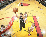 2014 NBA Finals Game Four: Jun 12, Miami Heat vs San Antonio Spurs - Marco Belinelli Photographic Print by Nathaniel S. Butler