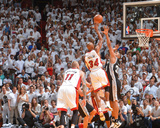 2014 NBA Finals Game Three: Jun 10, Miami Heat vs San Antonio Spurs - Ray Allen Photographic Print by Jesse D. Garrabrant
