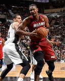 2014 NBA Finals Game One: Jun 05, Miami Heat vs San Antonio Spurs - Chris Bosh Photo by Andrew Bernstein
