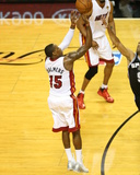 2014 NBA Finals Game Three: Jun 10, Miami Heat vs San Antonio Spurs - Mario Chalmers Photographic Print by Joe Murphy