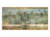 Pompeian Art, Garden Fresco II Print