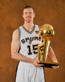 2014 NBA Finals Game Five: Jun 15, Miami Heat vs San Antonio Spurs - Matt Bonner Photographic Print by Jesse D. Garrabrant