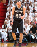 2014 NBA Finals Game Four: Jun 12, Miami Heat vs San Antonio Spurs - Manu Ginobili Photographic Print by Nathaniel S. Butler