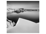 Crater Lake in Black and White Prints by Shane Settle