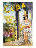 Cuba- Ile de rêve sous les tropiques Posters